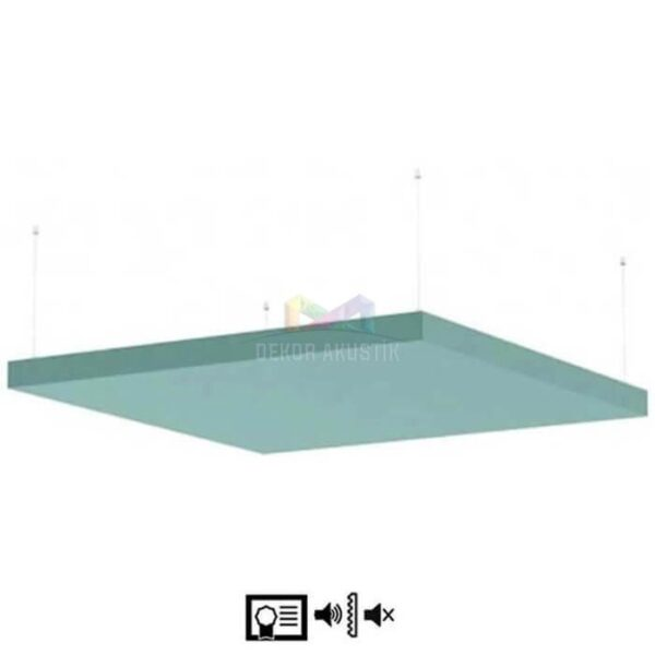 akustik baffle-yüzer tavan