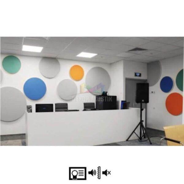 akustik dairesel panel