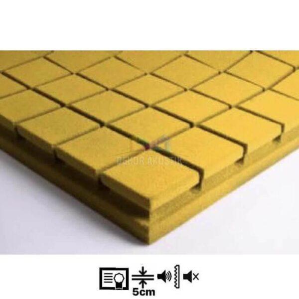 vicoustic flexi kare panel sarı