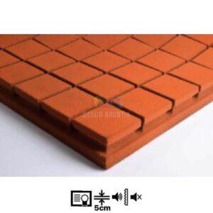 vicoustic flexi kare panel turuncu