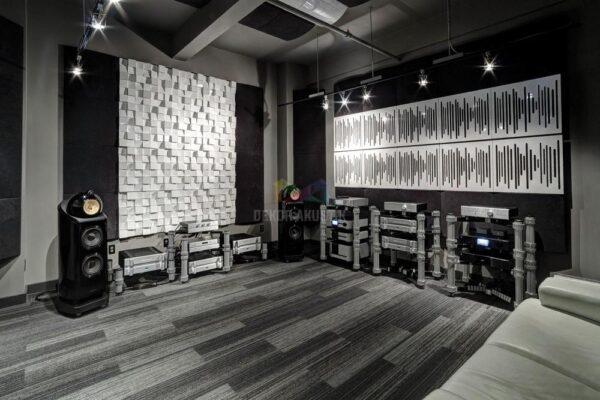 akustik ahşap panel