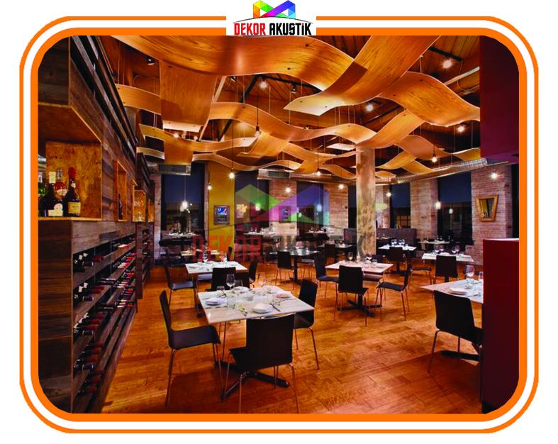 restaurant cafe ses yalıtımı